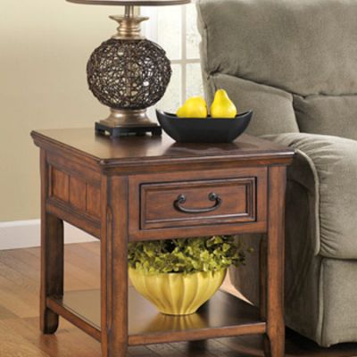 Woodboro Rectangular End Table - T478-3