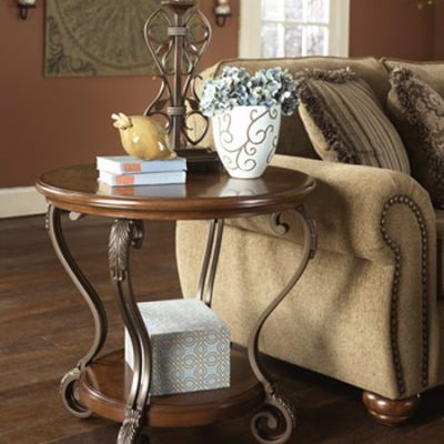 Nestor Round End Table - T517-6
