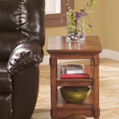 Cross Island Chair Side End Table - T719-7