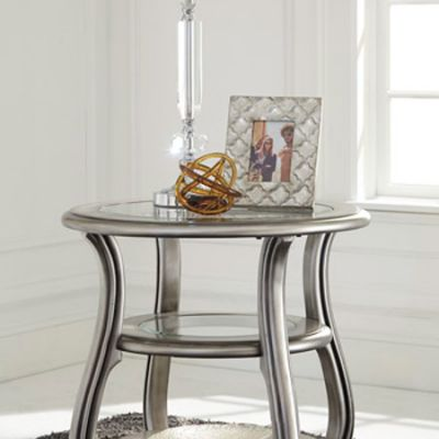 Coralayne Round End Table - T820-6