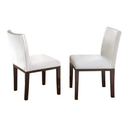 Tiffany Dining Side Chair in White - TF550SWN