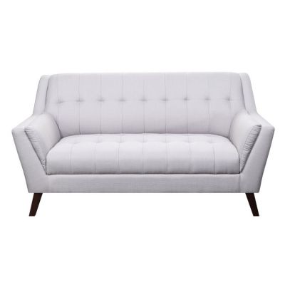 Binetti Loveseat-Cement in Cement Sahara-Bone - U3216M-01-09