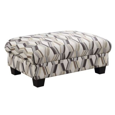 Clarkson Accent Cocktail Ottoman in Novella-Sandstone - U3470-22-09