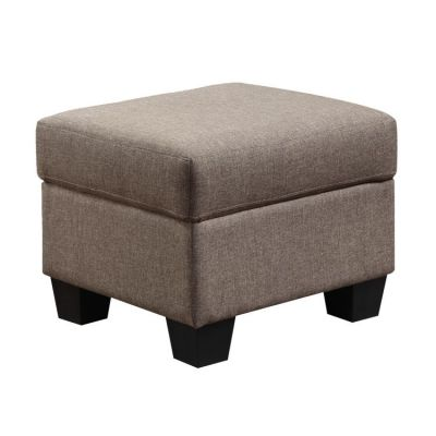 Clearview Ottoman in Brown - U3610A-03-15