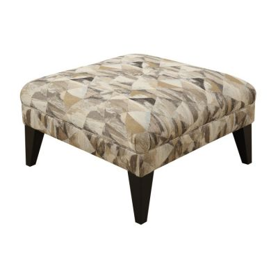 Focus Accent Cocktail Ottoman in Pattern - U4286M-22-13