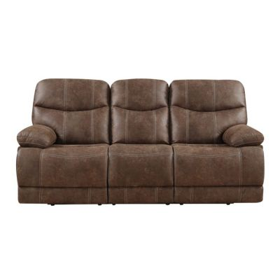 Earl Motion Aaron's Sofa in Brown - U7128-00-15