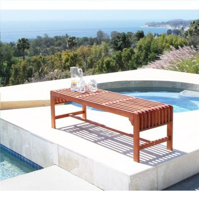 Malibu Outdoor 5-foot Backless Bench - V1400