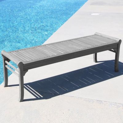 Renaissance Outdoor 5-foot Backless Bench - V1607