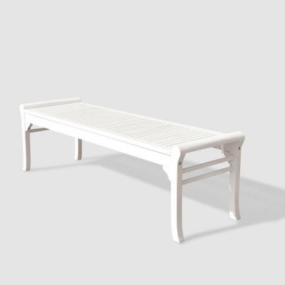 Bradley Outdoor 5-foot  Backless Bench - V1608