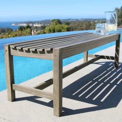 Renaissance Outdoor 5-foot Backless Bench - V1613