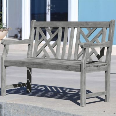 Renaissance 4-foot Outdoor  Bench - V1624