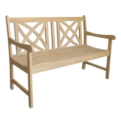Beverly Outdoor 4-foot Bench in Sand-splashed Finish - V1703