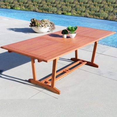 Malibu Outdoor Rectangular Extention Table - V232
