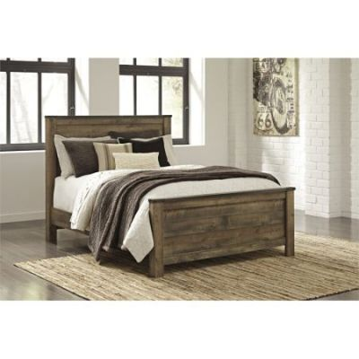 Trinell Queen Panel Bed in Brown - 001283_Kit