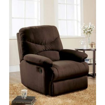 Arcadia Glider Recliner (Motion) in Chocolate MFB - 00635