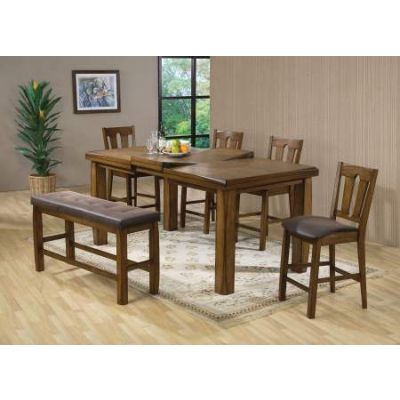 Marrison Counter Height Table in Oak - 00845