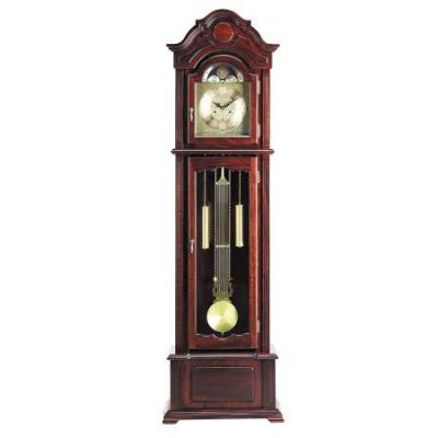 Sebastian Grandfather Clock in Dark Walnut - 01402
