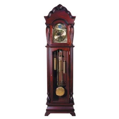 Arendal Grandfather Clock in Cherry