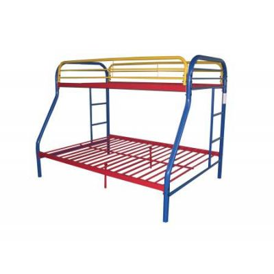 Tritan Twin/Full Bunk Bed Rainbow - 02053RNB