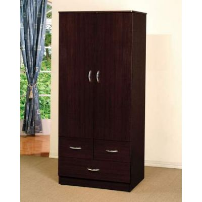 Yorktown Wardrobe with Espresso Finish - 02241