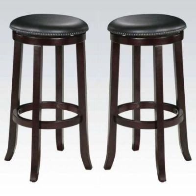 Chelsea Espresso Counter Height Bar Stool - 04733