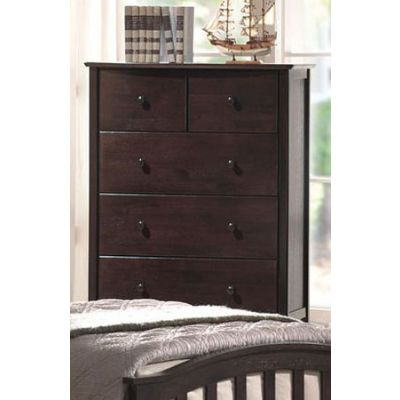 San Marino Chest Dark Walnut Finish - 04996