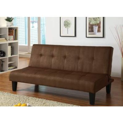 Emmet Adjustable Progressive Sofa in Chocolate Mfb