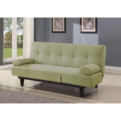 Cybil Adjustable Sofa with 2 Pillows in Apple Green Mfb - 05855W-SA