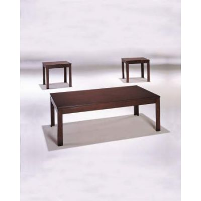 Java 3 Piece Coffee/End Table Set in Cherry - 06174