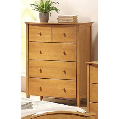 San Marino Youth 5-Drawer Chest in Maple - 08947