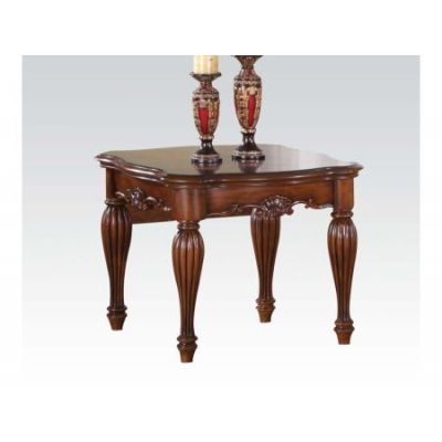 Dreena Traditional Cherry End Table - 10291