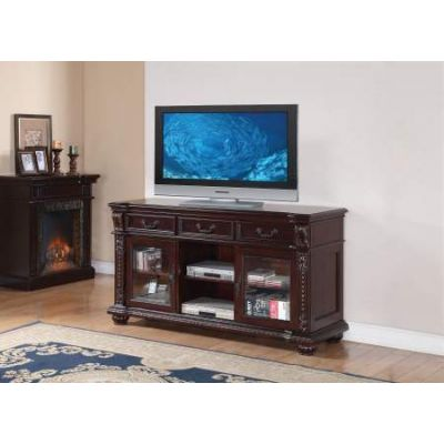 Anondale TV Stand in Cherry - 10321