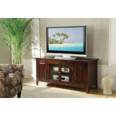 Christella TV Stand in Chocolate