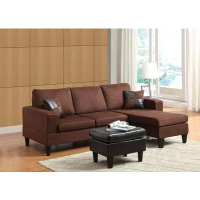 Robyn Sectional Sofa with Ottoman & 2 Pillows
