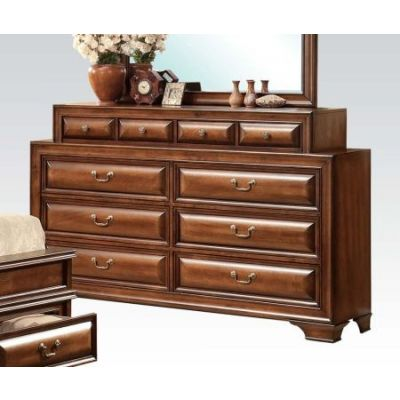 Konane Brown Cherry 10-Drawer Dresser - 20458