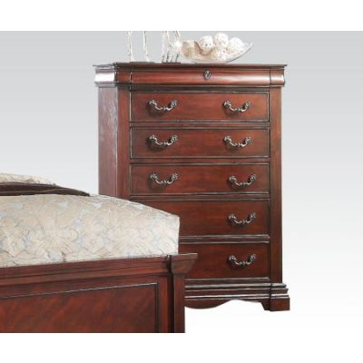 Estrella Traditional Dark Cherry Chest. - 20736