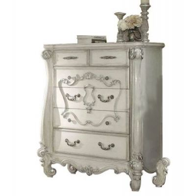 Versailles Bone White 5-Drawer Chest - 21136