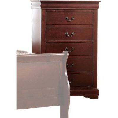 Louis Philippe Chest in Cherry - 23756