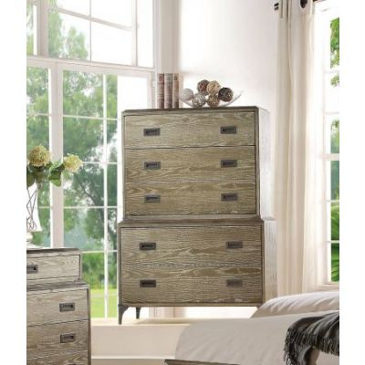 Athouman Chest in Weathered Oak - 23926