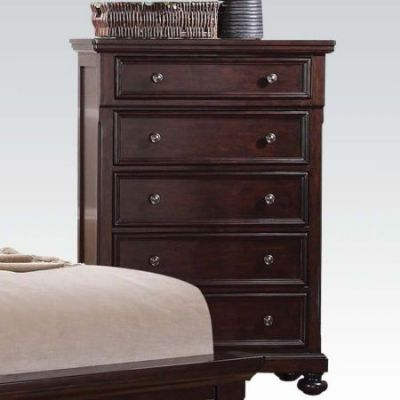 Grayson Chest in Dark Walnut - 24616