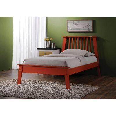 Marlton Orange Twin Platform Bed - 000924_Kit