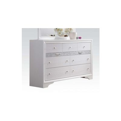 Naima Dresser with White Finish - 25775