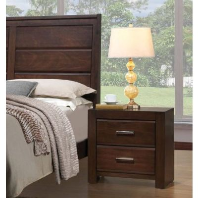 Oberreit Nightstand in Walnut - 25793