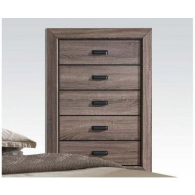 Lyndon Chest in Weathered Gray Grain - 26026