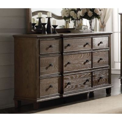 Baudouin Dresser in Weathered Oak - 26115