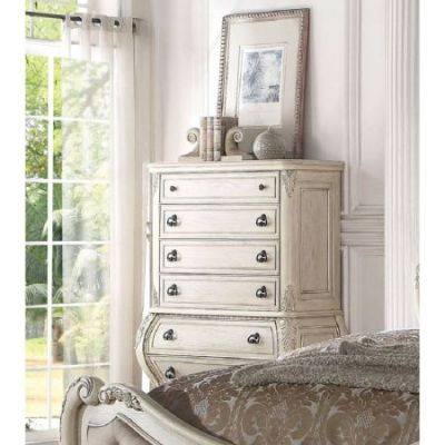 Ragenardus Chest in Antique White - 27016