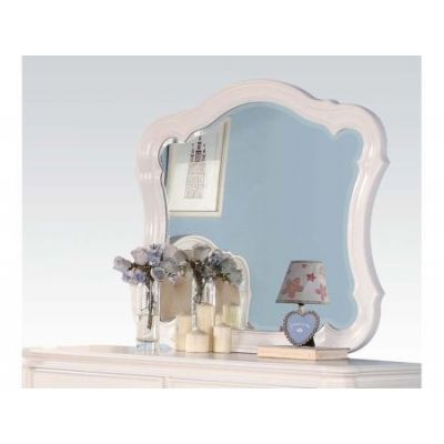 Ira Mirror in White - 30149