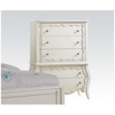 Edalene Ginny's Chest in Pearl White - 30515
