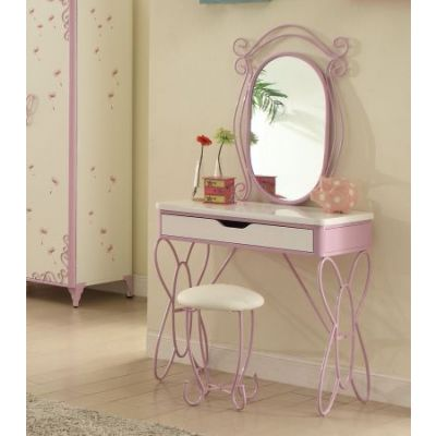 Priya II Vanity Set in White & Light Purple - 30539