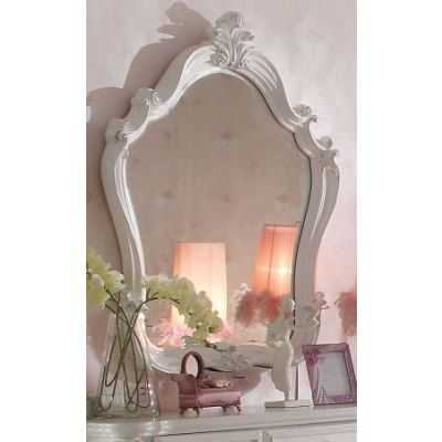 Versailles Mirror in Antique White - 30654